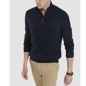 Tommy Hilfiger Quarter-zip Pullover Sweatshirt (L)